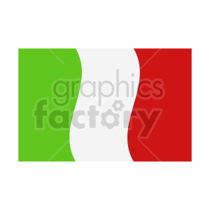 italian flag clipart clipart. Commercial use image # 416316
