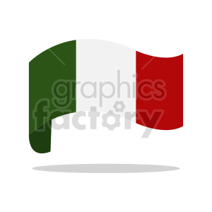 curvy italy flag clipart clipart. Commercial use image # 416330