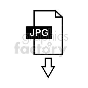 download jpg symbol clipart