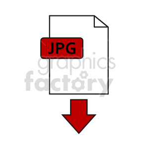 download jpg file icon clipart. Commercial use image # 416370