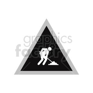 working street sign graphic clipart. Commercial use image # 416371