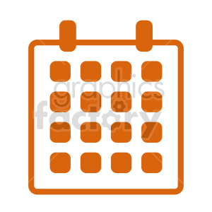 calendar vector graphic clipart. Commercial use image # 416385