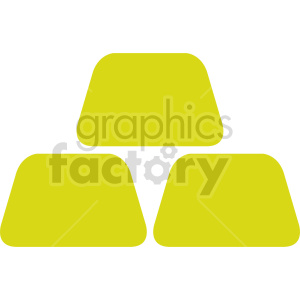 gold bars vector clipart clipart. Commercial use image # 416415