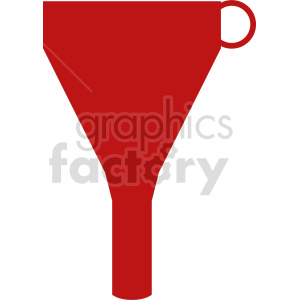 oil funnel vector icon clipart. Commercial use image # 416474