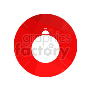 christmas decoration vector clipart clipart. Commercial use image # 416548
