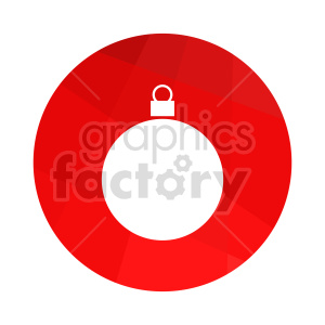 christmas decoration graphic clipart. Commercial use image # 416549