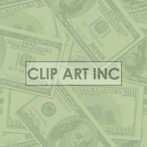 Faded money tiled background clipart. Commercial use image # 128135