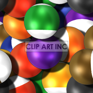 tiled pool ball background clipart. Royalty-free image # 128185