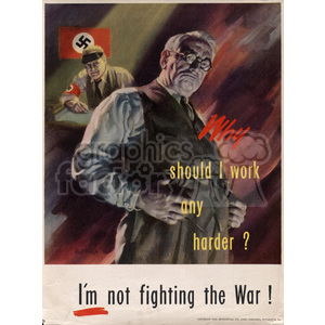 war posters world II   MPW00050 Clip Art Old War Posters