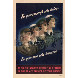 war posters world II   MPW00080 Clip Art Old War Posters