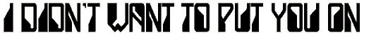 ladystar font. Royalty-free font # 174837