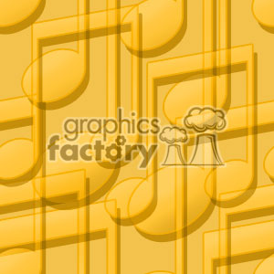 background backgrounds tile tiled tiles stationary music note notes musical yellow orange
