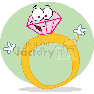 Golden Ring clipart. Royalty-free image # 377866