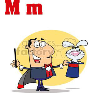 M is in Magic clipart. Royalty-free image # 377910