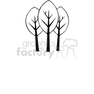 Tree-Group-2 clipart. Commercial use image # 380223