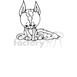 cartoon chihuahua clipart. Royalty-free image # 380258