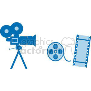 Movie Set stuff clipart. Royalty-free image # 380363