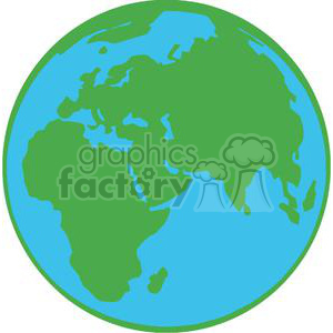cartoon funny illustration earth globe world
