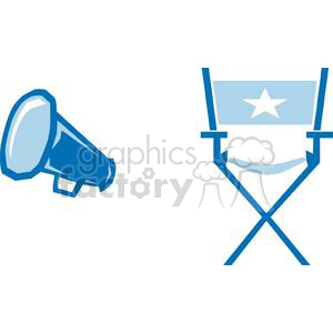 2793-Movie-Set-3 clipart. Royalty-free image # 380398