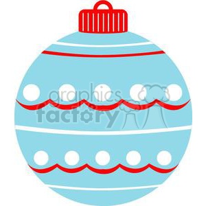 ornament with white dots clipart. Commercial use image # 381043