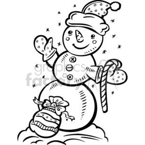 snowman clipart. Commercial use image # 381082