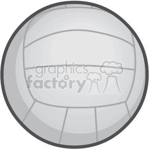volleyball clipart. Royalty-free image # 381200
