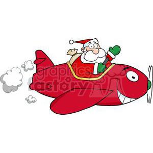 300 x 300 jpeg 11kB, Santa Flying With Christmas Plane