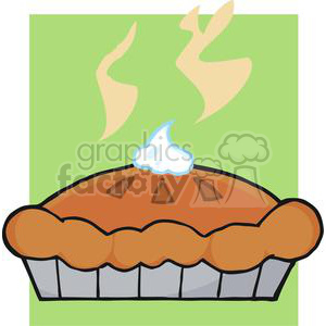 3535-Thanksgiving-Pie clipart. Royalty-free image # 381464