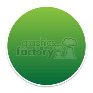buttons-blank-green clipart. Royalty-free image # 381604