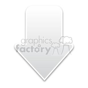 white download arrow clipart. Royalty-free image # 381609