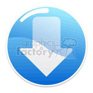 buttons-2-blue clipart. Royalty-free icon # 381614