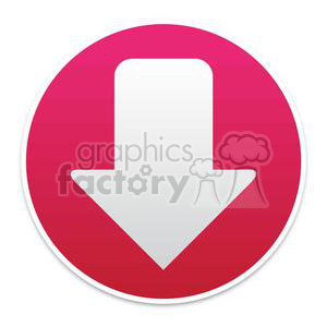 buttons-1-red clipart. Royalty-free image # 381619