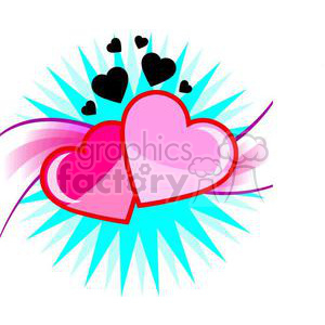 heart-15 clipart. Commercial use image # 381679