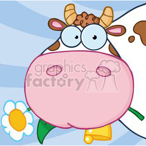 Cow Cartoon Character animation. Royalty-free animation # 382016