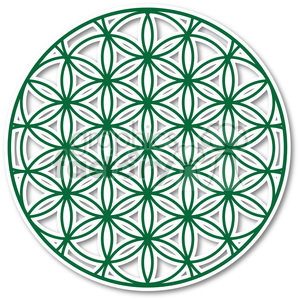 flower of life 002 clipart. Commercial use image # 384831