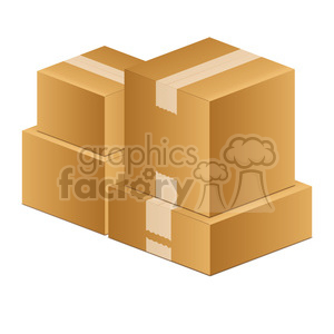 vector illustrations designs shipping delivery box boxes moving mover move RG