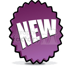 NEW-icon-image-vector-art-purple 001 clipart. Royalty-free image # 385583