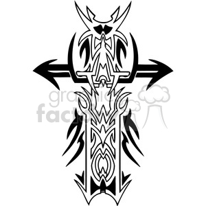 tribal clip art tattoo clipart. Royalty-free image # 385904