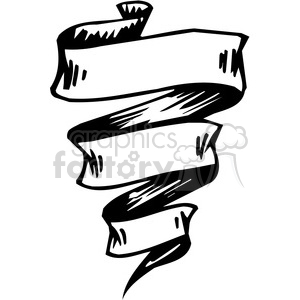 ribbons banners scroll clipart 047 clipart. Royalty-free image # 386058
