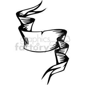 ribbons banners scroll clipart 050 clipart. Royalty-free image # 386068