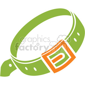 leash 070 clipart. Royalty-free image # 386178