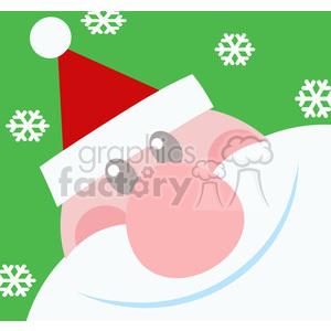 5153-Santa-Head-Royalty-Free-RF-Clipart-Image clipart. Royalty-free image # 386297