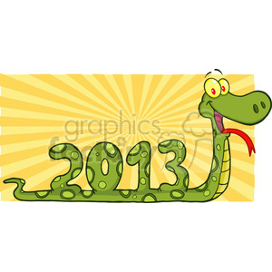 5118-Funny-Snake-Cartoon-Character-Numbers-2013-Royalty-Free-RF-Clipart-Image clipart. Royalty-free image # 386377