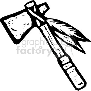tomahawk cartoon clipart. Royalty-free image # 173697