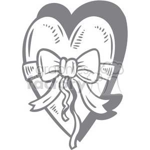 faded heart clipart. Royalty-free image # 386642