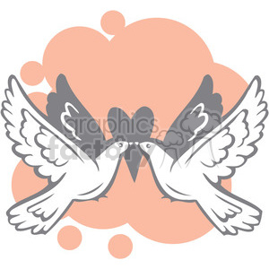 two love birds clipart. Royalty-free image # 386672