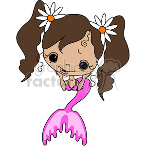 Girl 2 Doll Spanish Mermaid 3 clipart. Royalty-free image # 387251