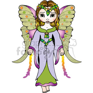 06 Fairy COL clipart. Commercial use image # 387540