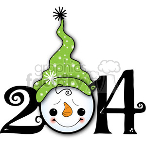 2014 snowman clipart clipart. Commercial use image # 387984