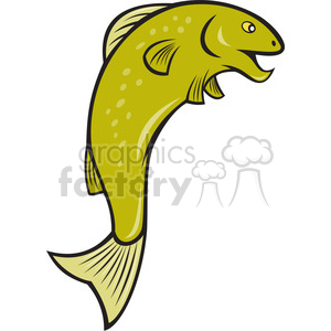 spotted fish clipart. Royalty-free image # 388474